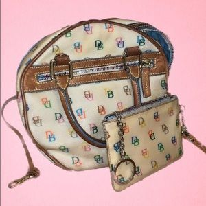 Vintage Dooney and Bourke Matching Purse & Clutch